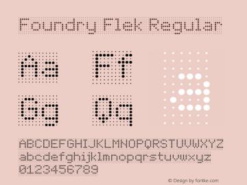 Foundry Flek