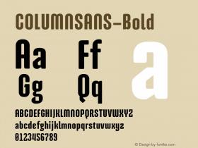 COLUMNSANS-Bold