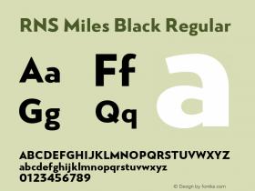 RNS Miles Black