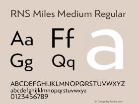 RNS Miles Medium