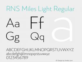 RNS Miles Light