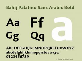 Bahij Palatino Sans Arabic