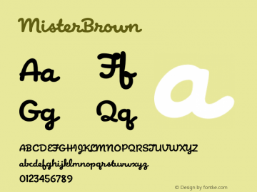 MisterBrown