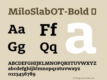 MiloSlabOT-Bold