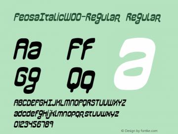 FeosaItalic-Regular