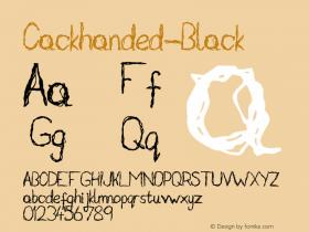 Cackhanded-Black