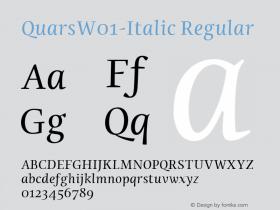Quars-Italic