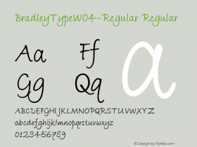 BradleyType-Regular