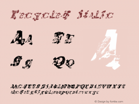 Recycled-Italic