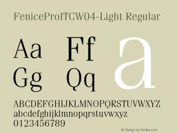 FeniceProITC-Light