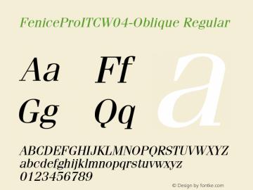 FeniceProITC-Oblique