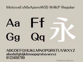 MotoyaExMaAporo-W4KP