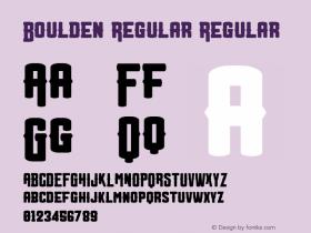 Boulden Regular