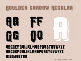 Boulden shadow