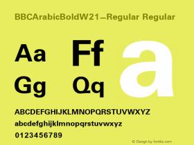 BBCArabicBold-Regular