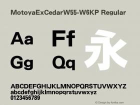 MotoyaExCedar-W6KP