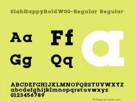 SlabHappyBold-Regular
