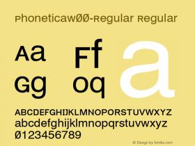Phonetica-Regular