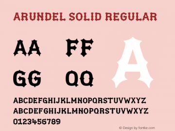 Arundel Solid