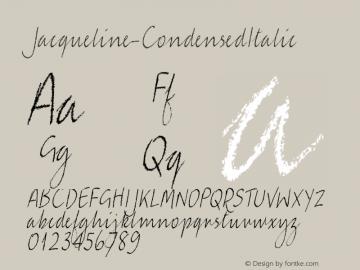 Jacqueline-CondensedItalic