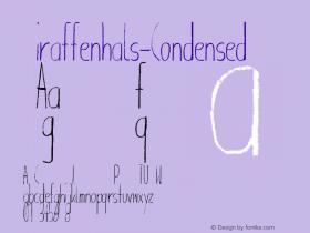 Giraffenhals-Condensed