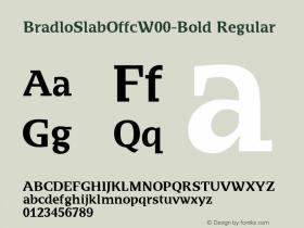 BradloSlabOffc-Bold