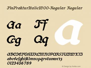 FinFrakturItalic-Regular