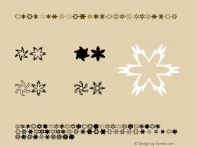 Mini Pics Snowflakes