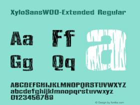 XyloSans-Extended
