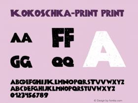 Kokoschka-Print