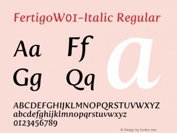 Fertigo-Italic