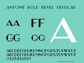 Antoine Bold Bevel