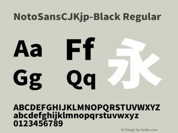 NotoSansCJKjp-Black