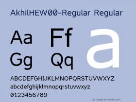 AkhilHE-Regular