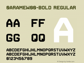 0Arame-Bold