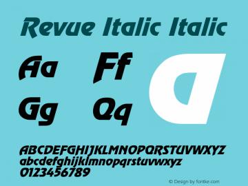 Revue Italic
