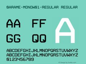 0Arame-Mono-Regular