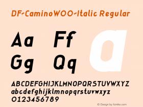 DF-Camino-Italic