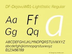DF-Dejavu-LightItalic
