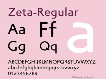 Zeta-Regular
