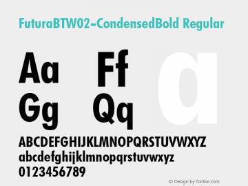 FuturaBT-CondensedBold