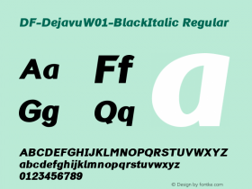 DF-Dejavu-BlackItalic