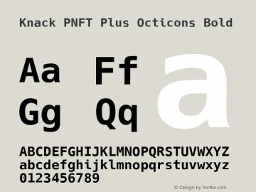 Knack PNFT Plus Octicons