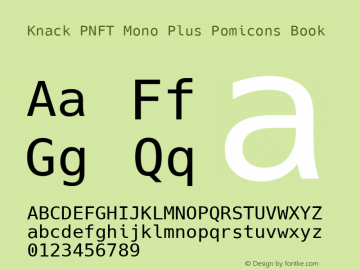 Knack PNFT Mono Plus Pomicons