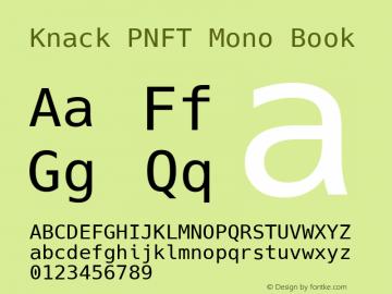 Knack PNFT Mono