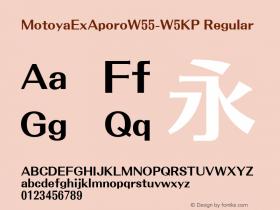 MotoyaExAporo-W5KP