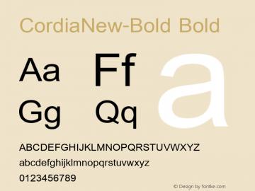 CordiaNew-Bold