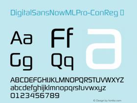 DigitalSansNowMLPro-ConReg
