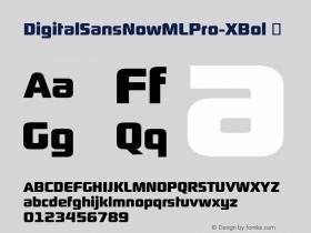 DigitalSansNowMLPro-XBol