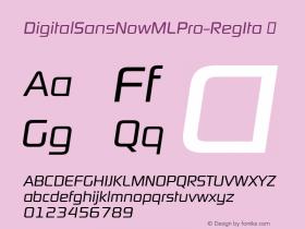 DigitalSansNowMLPro-RegIta